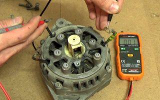 Проверка автомобильного генератора
