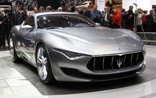 Автомобили maserati — модельный ряд автомобилей мазерати