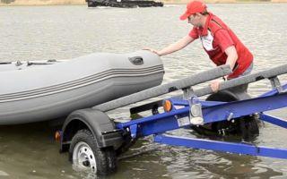 Основные способы для транспортировки лодок