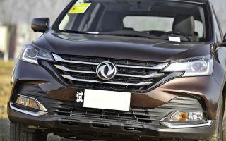 Обзор автомобиля dongfeng ax7