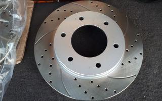 Особенности перфорированных тормозных дисков