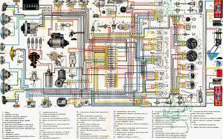 Схема ваз 2106: важные детали