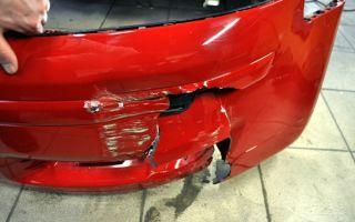 Ремонтируем бампер легкового автомобиля