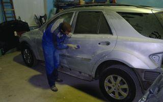 Как подготовить кузов автомобиля к покраске