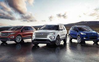 Автомобили ford — модельный ряд автомобилей форд