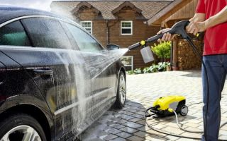 Мини-мойка – поддерживаем свой автомобиль в чистоте