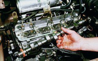 Как заменить распределительный вал в автомобиле