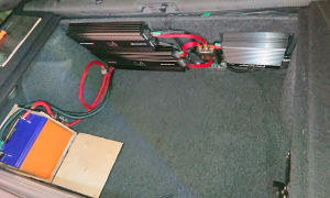 Установка усилителя в багажнике ваз 2114