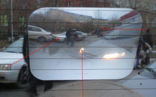 Для чего нужна линза на заднее стекло?