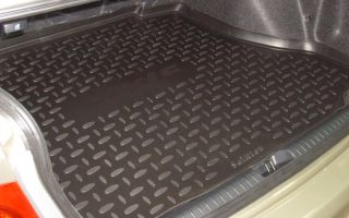 Зачем нужен коврик в багажник