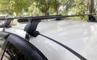 Установка багажника на крышу шевроле