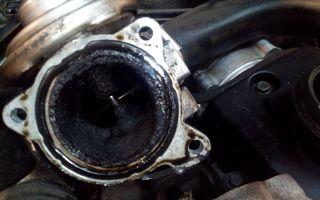 Основные особенности процедуры чистки клапана egr в автомобиле