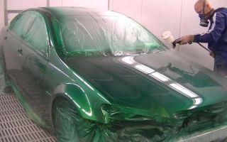 Покраска автомобиля своими руками в металлик
