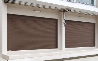 Роллетные ворота для гаражей и их плюсы
