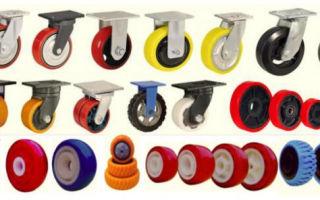 Подбор колес для складской техники