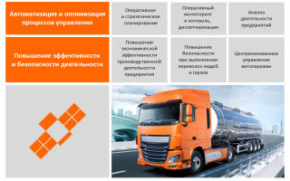 Навигационная система контроля транспорта: максимальный контроль графика перевозки и повышение эффективности работы компании