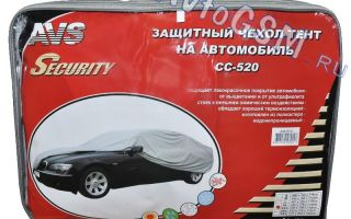 Автомобильный тент – надежная защита лакокрасочного покрытия от внешних факторов