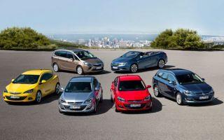 Автомобили opel — модельный ряд автомобилей опель