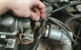 Не работает датчик температуры двигателя