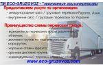 Популярные дополнительные услуги международных перевозок