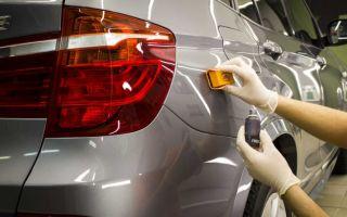 Стоимость полировки кузова автомобиля