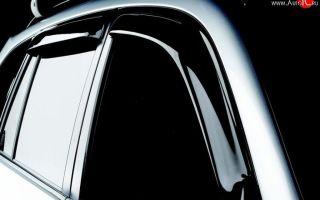 Предназначение дефлекторов для капота и окон автомобиля