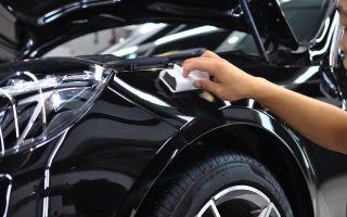 Покрытие автомобильного кузова нанокерамикой