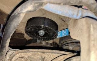 Замена щеток и ремня генератора