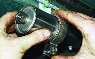 Замена топливного фильтра ваз 2110