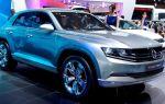 Volkswagen представил новинку cross coupe concept