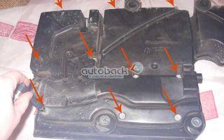 Как заменить воздушный фильтр в форд фьюжен