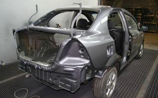 Замена кузова автомобиля
