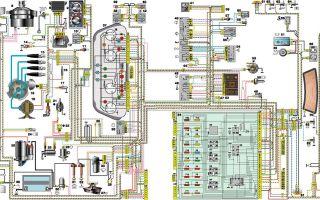 Ваз-2110 схема электрооборудования