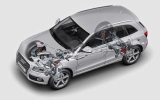 Список часто выходящих из строя деталей автомобиля audi q5