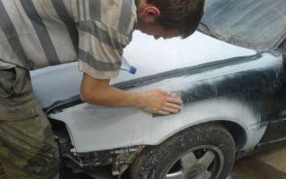 Как подготовить машину к подкраске?