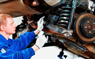 Ремонт ходовой части автомобиля: подготовка