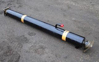 Цилиндр подъёма кузова камаз