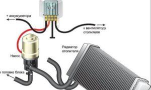 Как правильно установить доп. помпу к печке газель 406 двигатель схема