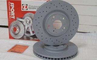 Тормозные диски zimmerman
