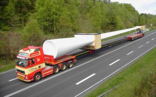 Транспортировка негабаритных грузов с помощью автомобильного транспорта