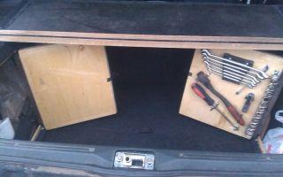 Доработка багажника ваз