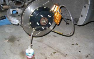 Прокачка тормозной системы с abs