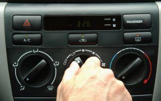 Можно ли пользовать автомобильным кондиционером зимой