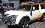 Land rover dc100 concept: стиль и мощь в одном варианте