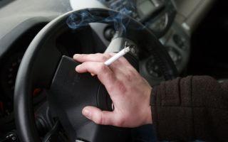 Как избавиться от запаха сигарет из салона авто?
