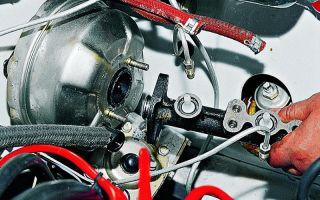 Ремонт тормозной системы ваз