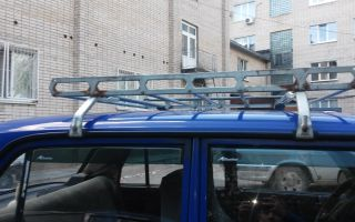 Установка багажника на крышу ваз 2107