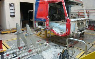 Выполнение ремонта кабин грузовых авто