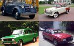 Автомобили москвич — модельный ряд автомобилей москвич