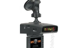 Автомобильный видеорегистратор со встроенным радар-детектором